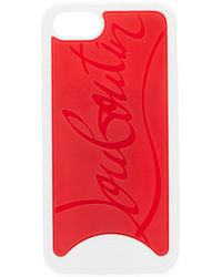 Christian Louboutin - Embossed Logo Loubiphone Case For Iphone® 8 - Lyst