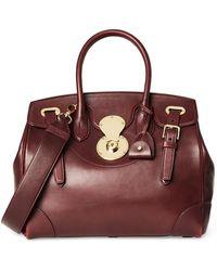 Ralph Lauren - Ricky 33 Soft Luxe Calf Classic Handbag - Lyst