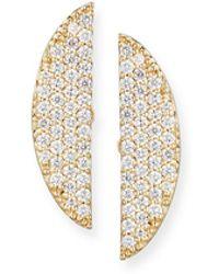 Lana Jewelry - Eclipse 14k Pavé Diamond Earrings - Lyst