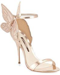 Sophia Webster - Chiara Butterfly Wing Ankle-wrap Sandals - Lyst