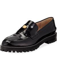 Stuart Weitzman - Penley Patent Slip-on Loafers - Lyst