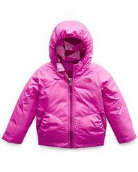 The North Face - Perrito Reversible Hooded Taffeta Jacket - Lyst