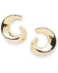 Ippolita - 18k Classico Snail Hoop Earrings - Lyst