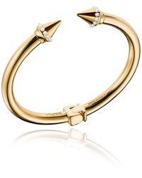 Vita Fede - Mini Titan Pearly Cuff Bracelet - Lyst