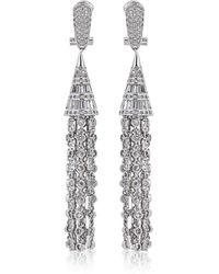 Fallon - Monarch Deco Tuile Earrings - Lyst