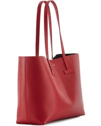 Tom Ford - Small Grained Leather Tote Bag - Lyst