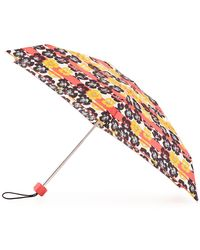 HUNTER - Original Floral & Stripe Mini Compact Umbrella - Lyst