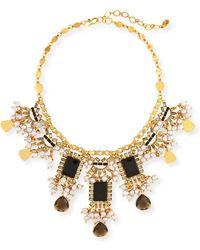 Sequin - Pearly Statement Necklace - Lyst