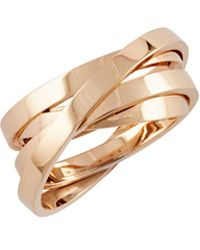 Repossi - Berbère Technical Ring In 18k Rose Gold - Lyst