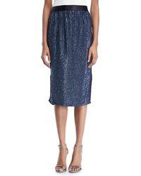 Joie - Malloren Sequin Midi Skirt - Lyst