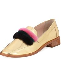 2fdc1e1ce72 Lyst - Women s Loeffler Randall Loafers and moccasins On Sale
