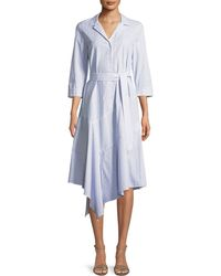 Lafayette 148 New York - Casimir Dominique Striped Dress - Lyst