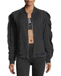 Koral Activewear - Glance Jacquard Bomber Jacket - Lyst