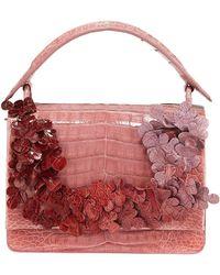 Nancy Gonzalez - Divino Small Floral Shoulder Bag - Lyst