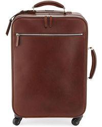Brunello Cucinelli - Leather Trolley Bag - Lyst