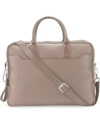 Tom Ford - Double-zip Leather Laptop Briefcase - Lyst