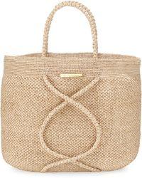 ViX - X Straw Beach Bag - Lyst
