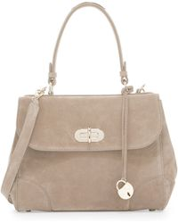 Pink Pony - Tiffin 27 Suede Satchel Bag - Lyst