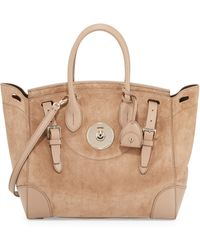 Pink Pony - Soft Ricky 33 Suede Satchel Bag - Lyst
