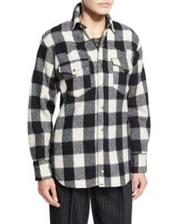 Pink Pony - Buffalo Check Flannel Shirt - Lyst