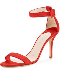 Nancy Gonzalez - Tina Crocodile Ankle-strap Sandal - Lyst