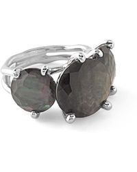 Ippolita | 925 Rock Candy Three-stone Turquoise Ring | Lyst