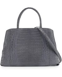 Nancy Gonzalez - Large New Work Crocodile Tote Bag - Lyst