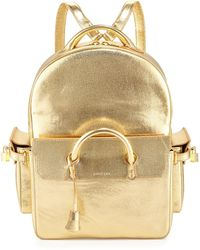 Buscemi - Phd Shiny Leather Backpack - Lyst