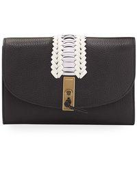 Altuzarra - Braided Leather Clutch Bag - Lyst