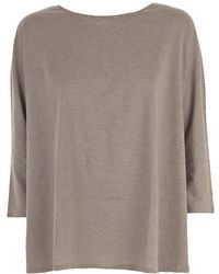 A PUNTO B - T-shirt M3/4 A Righe Over - Lyst