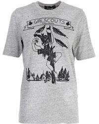 DSquared² - T-shirt Print - Lyst