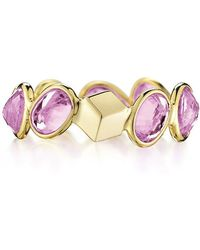 """Paolo Costagli - Pink Sapphire """"ombre"""" Band Ring - Lyst"""