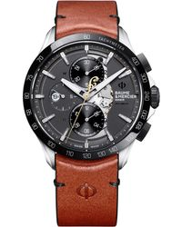 """Baume & Mercier - Clifton Club Indian """"scout"""" Steel - Lyst"""