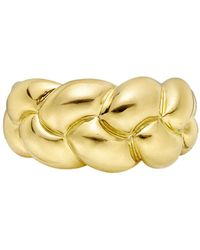 Van Cleef & Arpels - 18k Yellow Gold Braided Band Ring - Lyst
