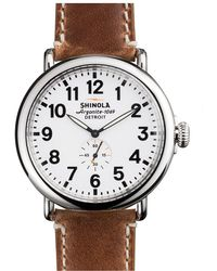 Shinola | Canfield Chronograph 43mm Steel | Lyst