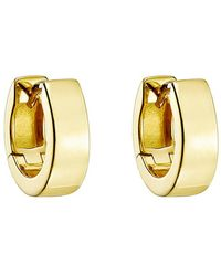 Roberto Coin - ​18k Yellow Gold Huggie Earrings - Lyst