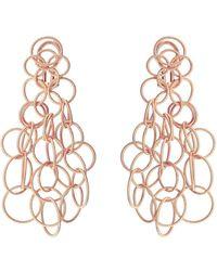 """Buccellati - 18k Pink Gold """"hawaii"""" Chandelier Earrings - Lyst"""