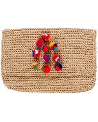 Hat Attack | Crochet Multi Pom Clutch | Lyst