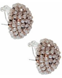 bevello - Cluster Button Studs - Lyst