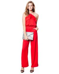 dbbbae0c4b8c Lyst - Capulet Cross Front Jumpsuit in White
