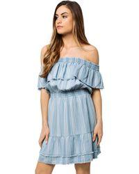 BB Dakota - Coco Stripe Dress - Lyst