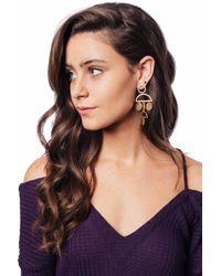 bevello - Geometric Dangle Earring - Lyst