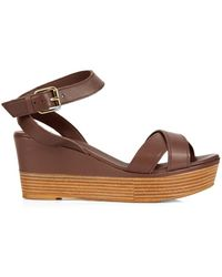Weekend by Maxmara - Musette Wedges - Lyst