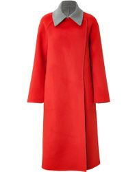 Akris Angora-Wool Coat - Lyst