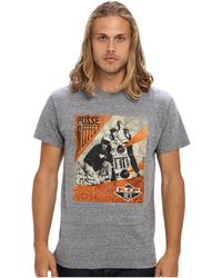 Obey Awareness Rip Mca Triblend Tee - Lyst