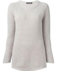 Iris Von Arnim Ribbed Sweater - Lyst