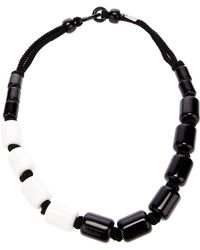 Antonella Filippini - Monochrome Beaded Necklace - Lyst