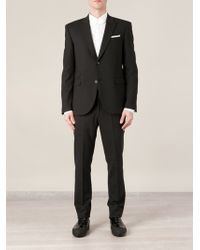 Neil Barrett Classic Two Button Suit - Lyst
