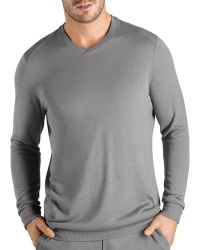 Hanro - Theophile Long-sleeve Knit Shirt - Lyst