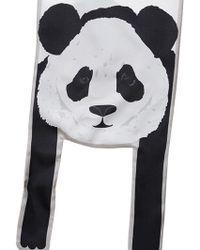Cléo Ferin Mercury | Panda Silk Twill Scarf | Lyst
